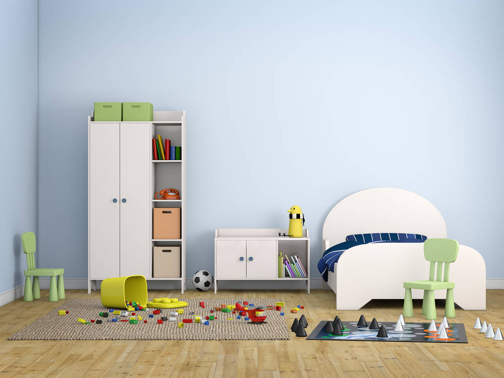 La habitación del niño es su primer parque de aventuras