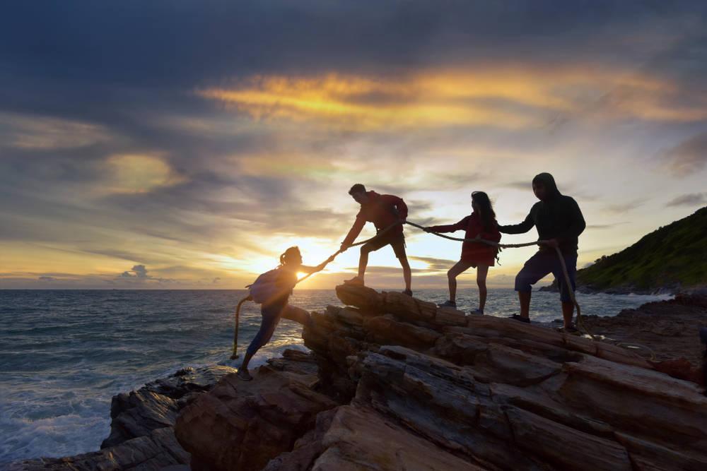 Las actividades en grupo son una de las mejores formas de socializar