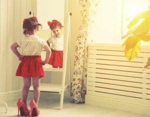 Mi hija quiere vestirse de chica mayor